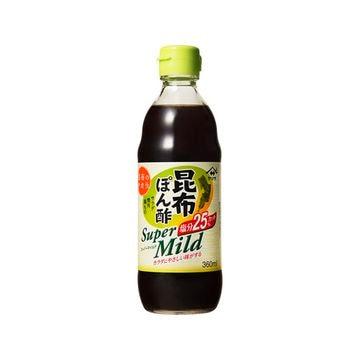 【12個入り】ヤマサ 昆布ぽん酢 スーパーマイルド 瓶 360ml
