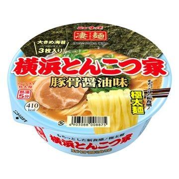 ニュータッチ 凄麺 横浜とんこつ家 カップ 117g x 12個