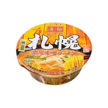 ニュータッチ 凄麺札幌濃厚味噌ラーメン 162g x 12個
