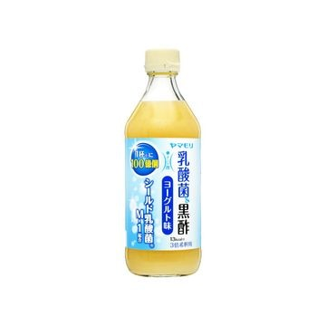 【6個入り】ヤマモリ 乳酸菌黒酢 ヨーグルト味 瓶 500ml