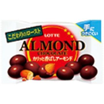 ロッテ アーモンドチョコレート カリッと香ばしアーモンド ポップジョイ 43g x 10個