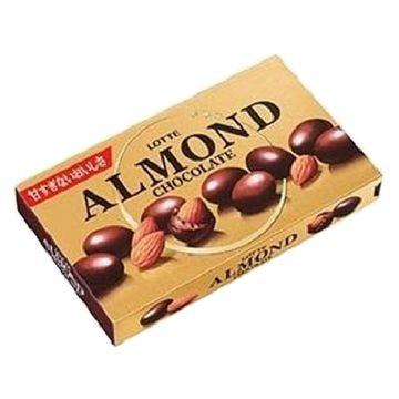 【送料無料】ロッテ アーモンドチョコレート 86g x 10個