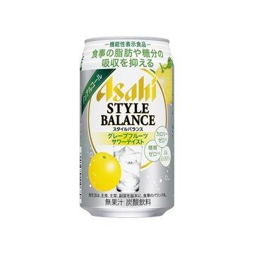 【24個入り】アサヒ スタイルバランス グレープフルーツサワーテイスト 缶 350ml