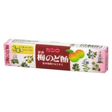 【送料無料】【10個入り】カンロ 100 健康梅のど飴 スティック 11粒