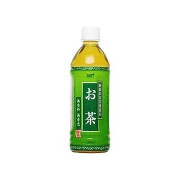 【24個入り】サーフ 緑茶 ペット 500ml
