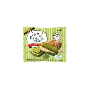 【6個入り】アサヒ クリーム玄米B 抹茶のブラウニー 70g