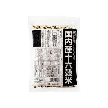 【6個入り】種商 業務用 国産 十六穀米 500g