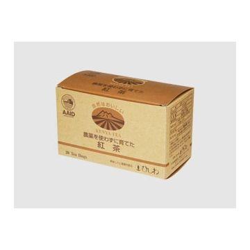 ひしわ 農薬を使わずに育てた紅茶ティーバッグタイプ 20P 20袋 x 10個