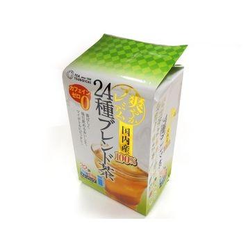 つぼ市 国内産24種ブレンド茶 ティーバッグ 4g x 32袋 x 8個