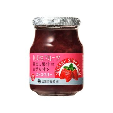 【6個入り】スドーN信州須藤農園100%ストロベリー 190g