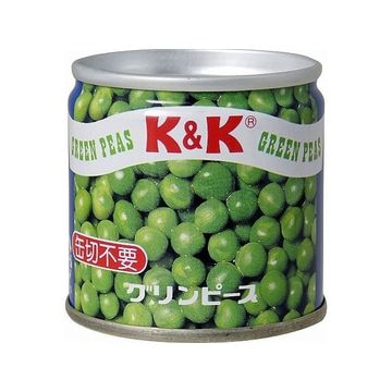【6個入り】K&K グリンピース スタック SS2号缶