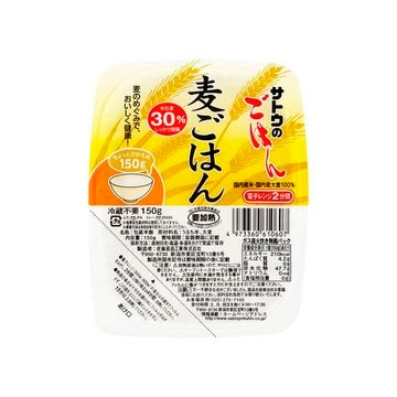 【送料無料】【6個入り】サトウのごはん 麦ごはん 150g