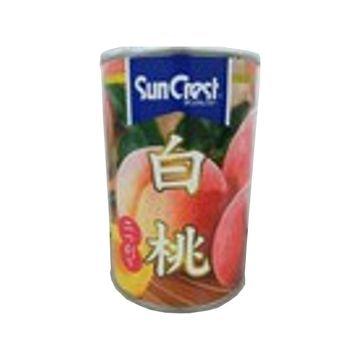 【12個入り】サンクレスト 白桃 425g