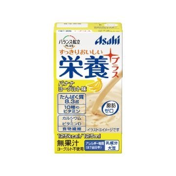 【24個入り】アサヒ 栄養プラス バナナヨーグルト味 125ml