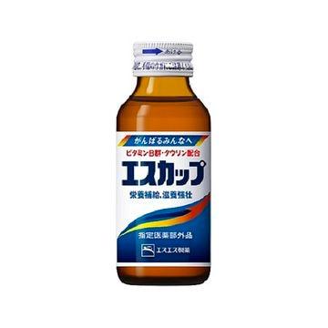 【10個入り】エスエス製薬 エスカップ 瓶 100ml
