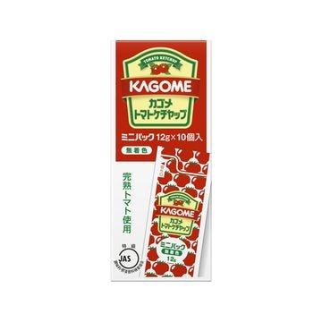 【送料無料】【15個入り】カゴメ トマトケチャップ ミニパック 12gX10