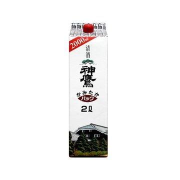 【6個入り】清酒 神鷹 パック 2L