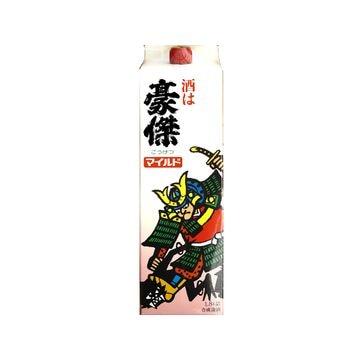 【3個入り】合成酒 豪傑 マイルド パック 1.8L