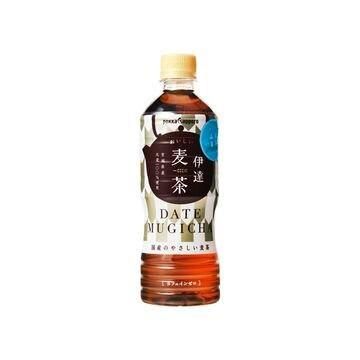 【24個入り】ポッカ 伊達おいしい麦茶 ペット 525ml