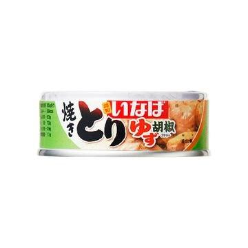 【12個入り】いなば とり ゆず胡椒味 65g