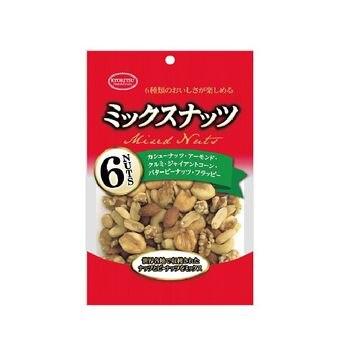 【10個入り】共立食品 徳用ミックスナッツ チャック付 170g
