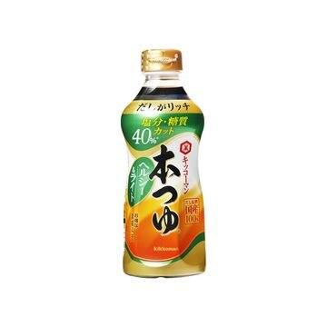 【12個入り】キッコーマン 本つゆ ヘルシー&ライト 500ml