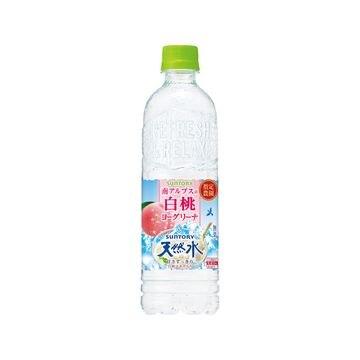 【24個入り】サントリー 南アルプスの白桃ヨーグリーナ天然水 550ml
