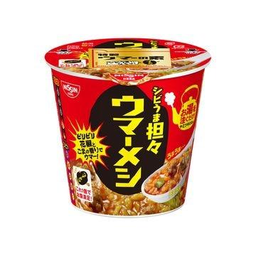 【6個入り】日清食品 ウマーメシ シビうま担々 カップ 103g