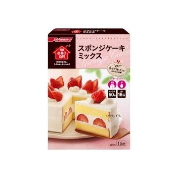 【送料無料】【6個入り】日清フーズ スポンジケーキミックス 200g