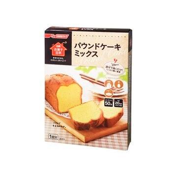【6個入り】日清フーズ パウンドケーキミックス 240g