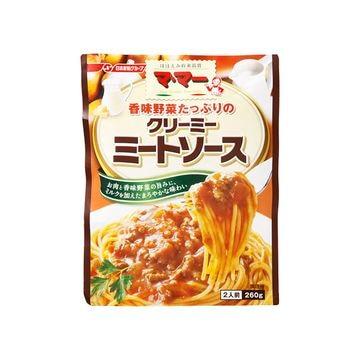 【6個入り】マ・マー 香味野菜クリーミーミートソース 260g