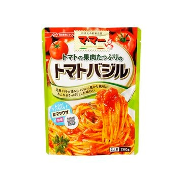 【6個入り】マ・マー トマト果肉たっぷりのトマトバジル 260g
