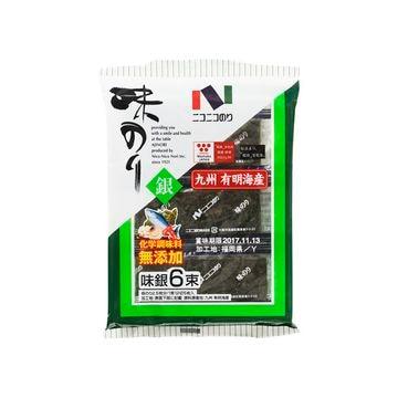 【10個入り】ニコニコのり 味銀6束 6袋