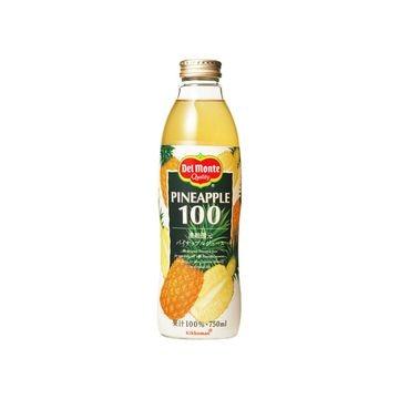 【6個入り】デルモンテ パイナップル ジュース 750ml