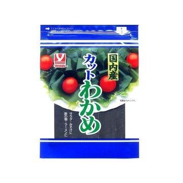 【10個入り】ヤマナカ 国内産 カットわかめ 13g