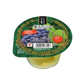 【送料無料】【12個入り】たいまつ 寒天のジュレ ぶどう カップ 160g