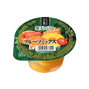 【送料無料】【12個入り】たいまつ 寒天のジュレ フルーツミックスカップ 160g
