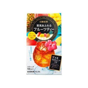 【6個入り】日東紅茶 果実あふれるフルーツティー 8.5X10