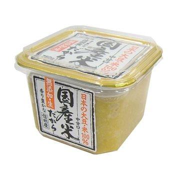 山印 国産米だから無添加生味噌カップ 750g x 6個