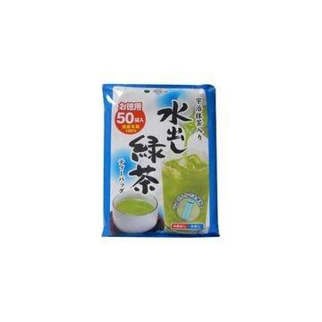 【12個入り】国太楼 宇治抹茶入り水出し緑茶 ティーバッグ 3.5X50