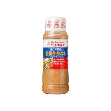 【12個入り】ケンコー 神戸壱番館 粗挽き金ごまドレ 300ml