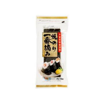 【10個入り】小善本店 千葉県新富津産一番摘み 3切れ15枚