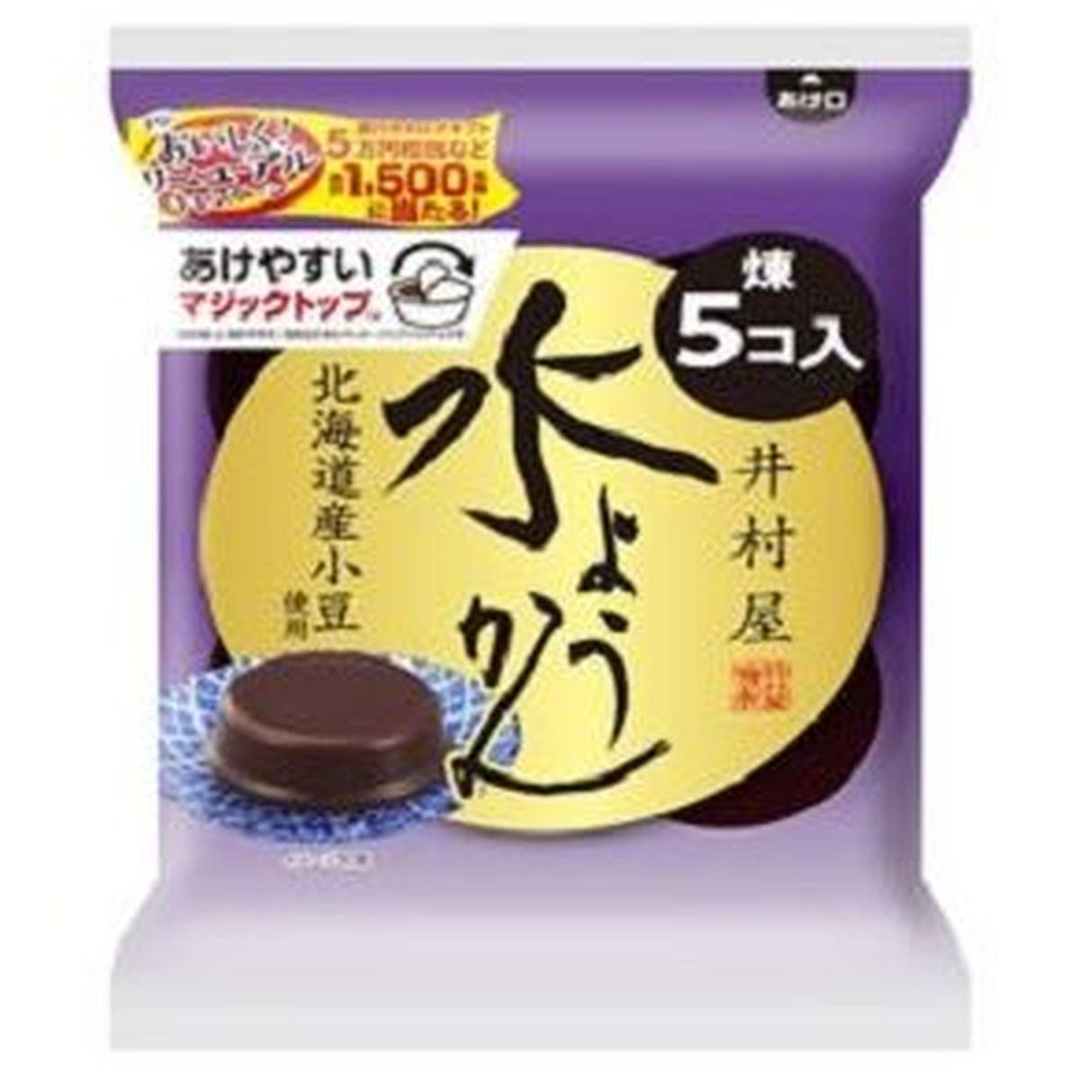 【10個入り】井村屋 水ようかん 62gX5個