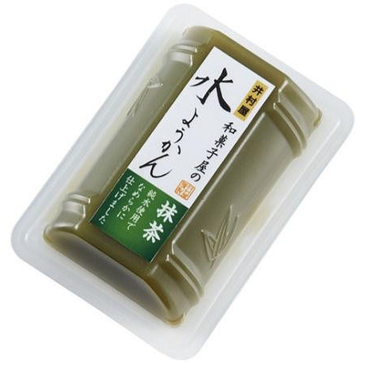 【10個入り】井村屋 和菓子屋の水ようかん抹茶 83g