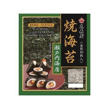 【20個入り】大森屋 瀬戸内海産 焼海苔 全形 10枚