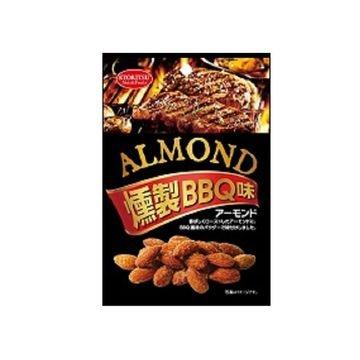 【6個入り】共立食品 アーモンド燻製 BBQ味 45g