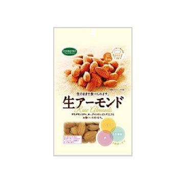 【送料無料】【10個入り】共立食品 生アーモンド 90g