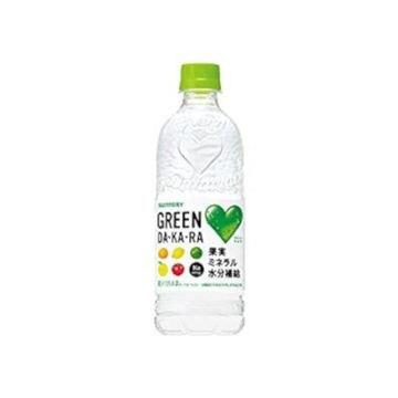 【24個入り】サントリー グリーンDAKARA 冷凍兼用 ペット 600ml