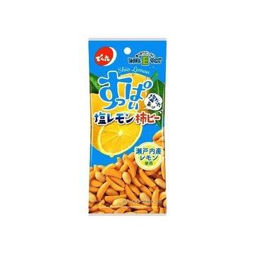 【10個入り】でん六 Eサイズ 塩レモン柿ピー 53g