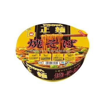 【12個入り】マルちゃん 正麺 カップ焼そば カップ 124g
